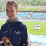 Nuorten yleisurheilun SM-kisoista kirkkaita tuliaisia: Nora Kytäjä ja Santtu Heikkinen tuplamitalisteja