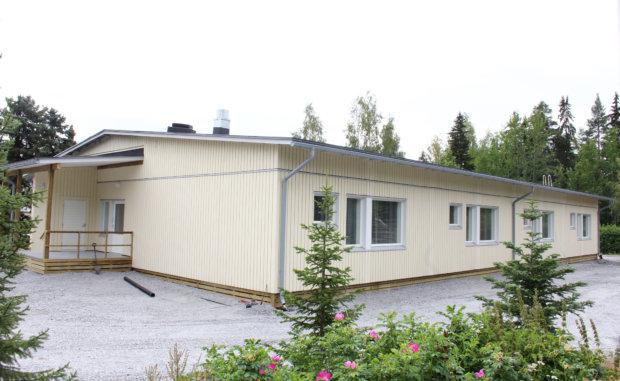Nurmen uusi koulurakennus. Kuva: Katariina Rannaste