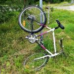 Lukijan kuva: Vauhdikasta pyöräparkkeerausta Kuljussa