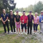 33 pelaajaa kilvoitteli golfin kunnanmestaruuksista – Louhekallion ja Salosen peli kulki voittoisasti