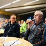 Sääksjärven asukkailta kyseltiin mielipiteitä vaihtoehdoista Vt 3:n ja 2-kehän rakentamiseksi