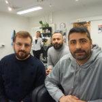 Lempäälä saa ensimmäisen turkkilaisen parturiliikkeensä – Kenan ja Esin Uluöz rakentavat turkkilaiseen traditioon pohjautuvaa parturi-kampaamoketjua