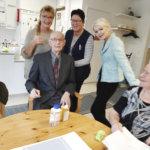 Valtakunnallinen Vanhustenviikko kokoaa Senior Go!-viikko kokoaa ikäihmiset ja toimijat yhteen – Toimelan palvelutalossa juhlittiin Kalle Niemisen, 90, merkkipäivää
