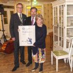 Lempäälän Rotaryklubi valitsi Kahvila Siirin Vuoden palvelijaksi