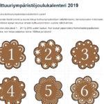 Kuokkalan koulun metallinetsijät pääsivät joulukalenteriin – Luukuissa esitellään kulttuuriympäristöä