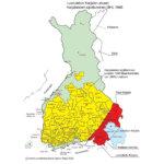 Katso kartasta, mistä karjalaissiirtolaiset tulivat kuntaasi. Karjala-aktiivi Seppo Rapo: Karjalaiset toivat tervetullutta uutta verta naimamarkkinoille