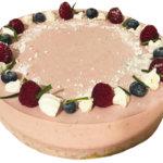Kakkukunkun keittiöstä: Helppo ja täydellinen vadelmajuustokakku