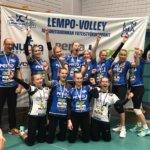 Lempo-Volleyn B-tytöt juhlivat aluemestaruutta puhtaalla pelillä