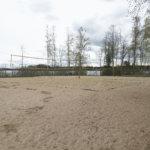 Lammasniemen beach-kenttä pelikunnossa