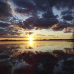 Lukijan kuva: Parhaat auringonlaskut löytyvät Vesilahdesta