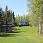 Aarne Harjumäki halusi vain saunapaikan, mutta päättikin rakentaa itselleen kokonaisen kesämökin