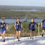 LeKi:n hiihtonaiset ja nuoret tähtäävät innolla ensi talveen
