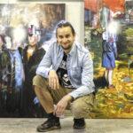 Eturivin taiteilija omalta kylältä – Laukon kesässä nähdään Viljami Heinosen ekspressiivisiä töitä