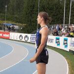 Matias Mustonen ja Santtu Heikkinen SM-vitosia Kalevan kisoissa