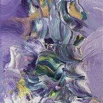 """Reijo Viljasen valoa peilaavat maalaukset esillä Ideaparkissa  – """"Värit elävät taulun edessä liikkuessa"""""""