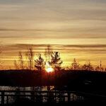 Lukijan kuva: Joulukuun aurinko nousee