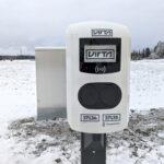 Vesilahdelle avattiin sähköautojen latauspiste – Lataus toistaiseksi ilmaista