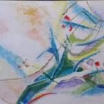 Luontoretkien inspiroimaa taidetta Vesilahdessa – Taiteilijalla on myös muu syy kiertää kuntaa