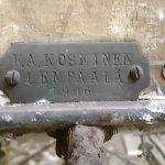 Lempäälässä vuonna 1906 valmistetut kiesit Tervolassa