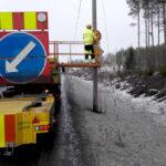 Talvinopeusrajoitus jätetään toistaiseksi voimaan osalla valtatietä 3 ja tietä 130