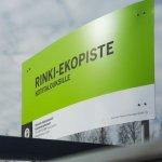 Rinki-ekopiste Lempäälän Ideaparkin yhteydessä on siirtynyt kauppakeskuksen pihalla uuteen paikkaan