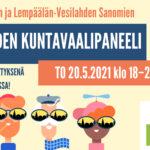 Vesilahden kuntavaalipaneeli torstaina 20.5. suorana lähetyksenä – Katso, ketkä ehdokkaat ovat panelisteina, ja lähetä kysymyksiä ennakkoon!