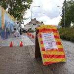 Nuoret pääsivät tekemään katutaidetta Lempäälässä – graffitityöpajat ovat osa Harrastava koululainen -hanketta