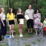 Ympäristödiplomit Moisionlammen elvyttäjille ja lukion ilmastotoimijoille