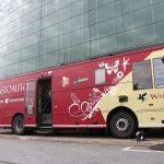 Kirjastoauto on korvaamaton – Walle-kirjastoauto nähdään Lempäälän Ideaparkissa kaksi kertaa kesän aikana