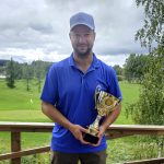 Hiisi-Golfissa ratkottiin seuranmestaruuksia: parhaiten pelasi Mikko Raivio