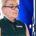 Kouluruokailun asennekasvatusta Säijän koulussa: Leena Eskola on ammattikeittiön vuoden 2021 työntekijä