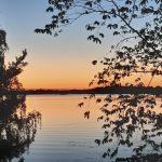 Lukijan kuva: syysillan auringonlasku