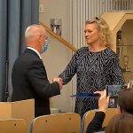 Viisi Vesilahden kunnan luottamushenkilöä ja työntekijää palkittiin Kuntaliiton ansiomerkeillä