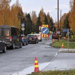 Tampereentietä päällystetään Moisiossa, Hakkarissa ja Kuokkalassa – Päällystys tehdään osin päivällä ja turvallisuussyistä osin yöaikaan